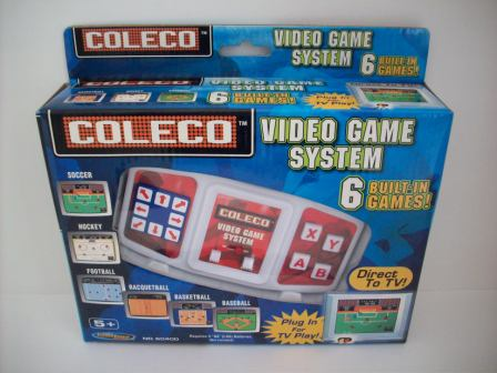 Coleco Video Game System (NEW) - Plug & Play TV Game